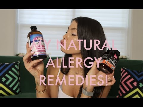 HOW I GOT MY ALLERGIES UNDER CONTROL! MY NATURAL ALLERGY REMEDIES… THAT ACTUALLY WORK!