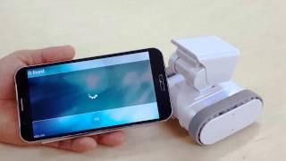 "Internet connection of ""appbot-LINK"" - Smart Home Security Robot"