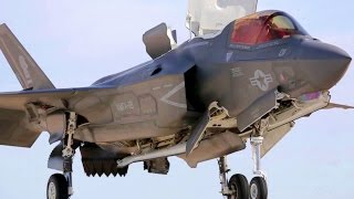 F-35 Short Takeoff u0026 Vertical Landings - Awesome Views