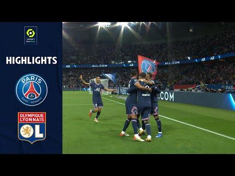 PARIS SAINT-GERMAIN - OLYMPIQUE LYONNAIS (2 - 1) - Highlights - (PSG - OL) / 2021-2022