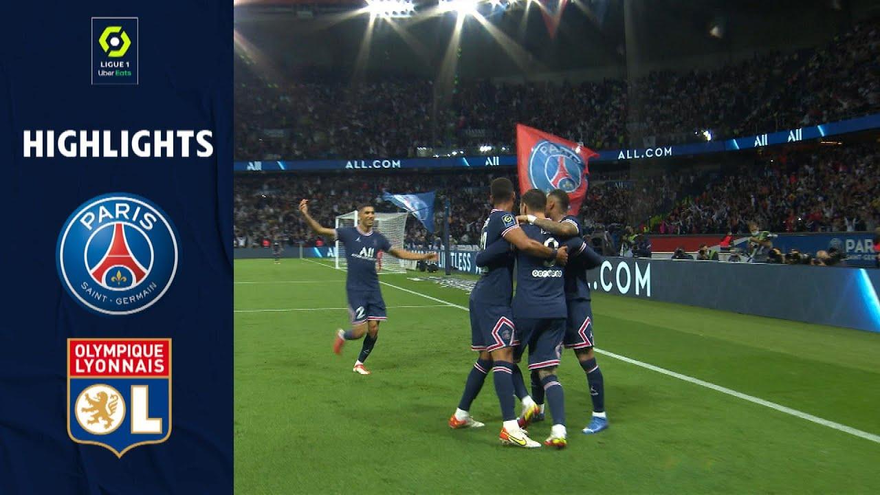 Download PARIS SAINT-GERMAIN - OLYMPIQUE LYONNAIS (2 - 1) - Highlights - (PSG - OL) / 2021-2022