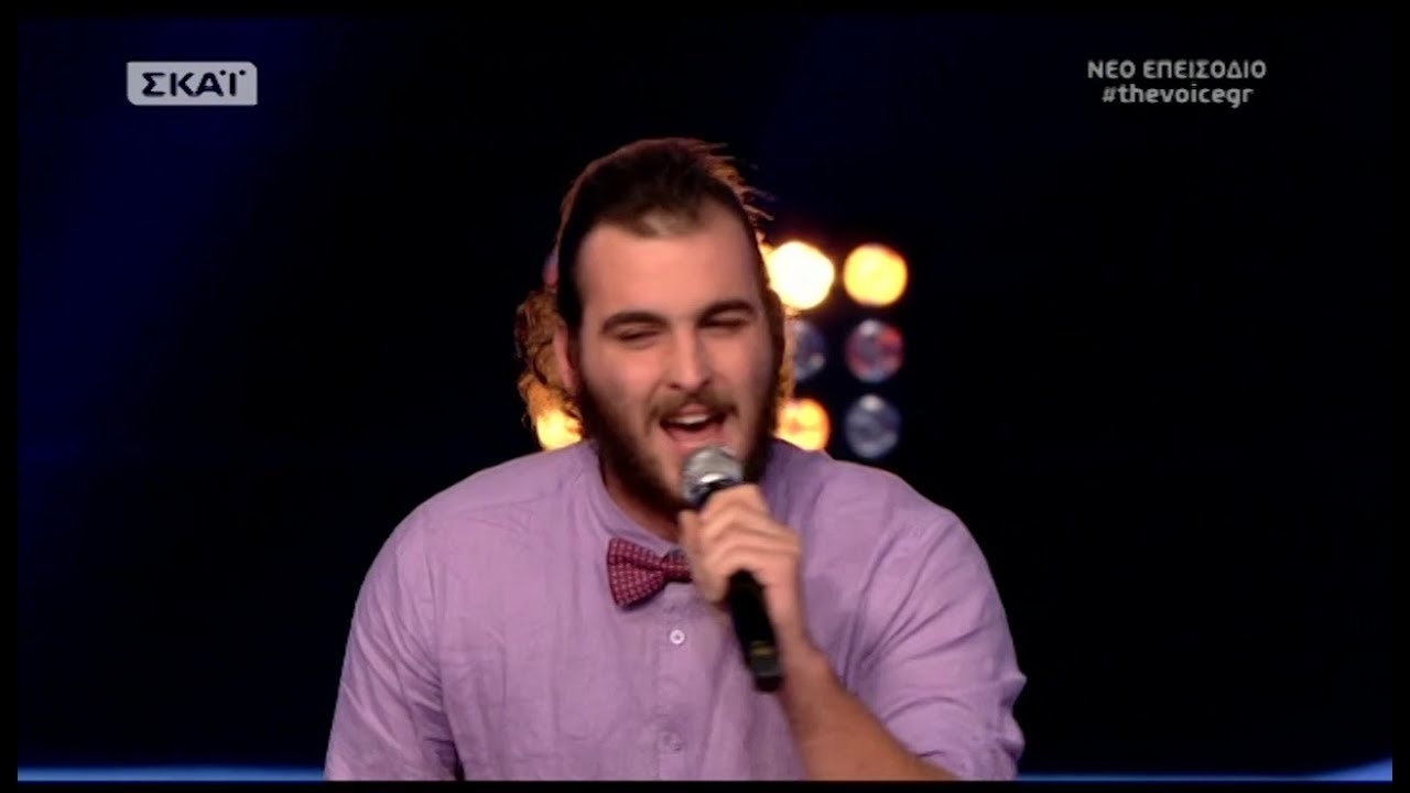 The Voice Of Greece 4 Blind Audition When A Blind Man Cries