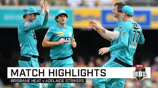Red-hot Heat mark de Villiers' debut with big win | KFC BBL|09