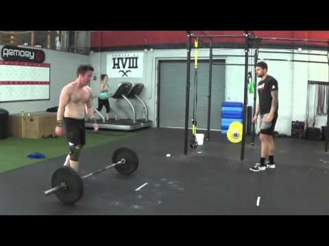 Joshua Boyle - CF Open 16.1