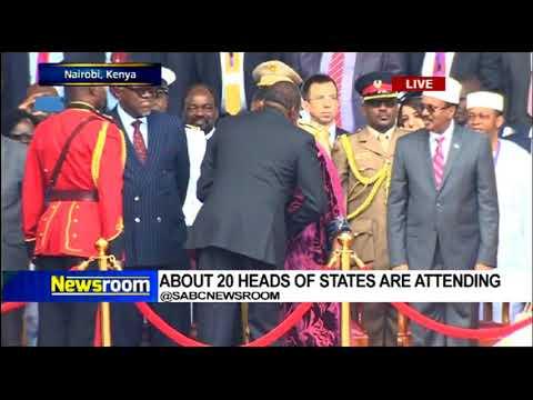 Swearing-in of Uhuru Kenyatta as Kenya president