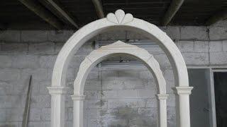 Изготовление деревянной арки / Production of wooden arch(Подробный рассказ для начинающих столяров., 2015-03-02T16:53:07.000Z)