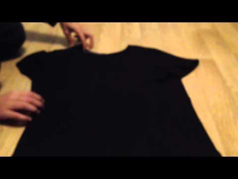 Comment plier un t shirt en 3 secondes tuto youtube - Comment plier un t shirt ...