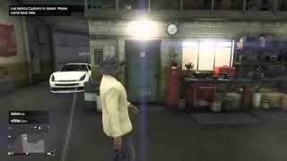 GTA 5 online - Glitch? - Inside Los Santos Customs when it's closed