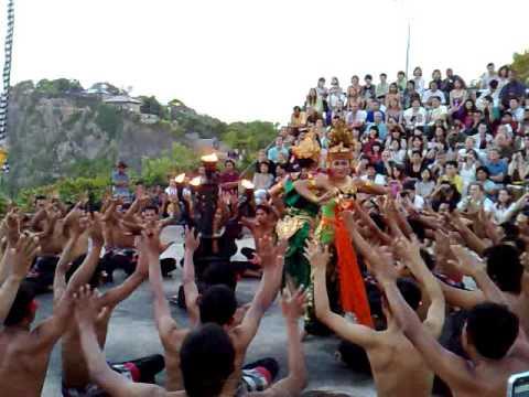 Kecak - Ramayana dance-drama in Bali.
