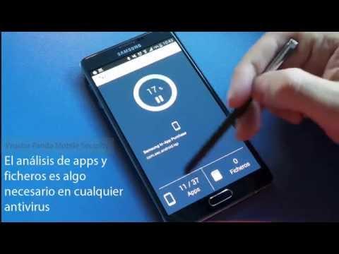 Prueba Panda Mobile Security antivirus para móvil