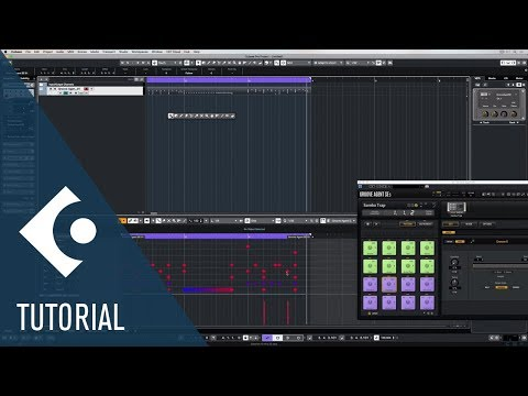 How to Make Beats with The Drum Editor in Cubase | Music Production for Beginners