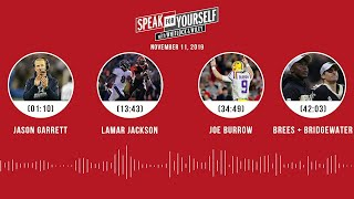 SPEAK FOR YOURSELF Audio Podcast (11.11.19)with Marcellus Wiley, Jason Whitlock | SPEAK FOR YOURSELF