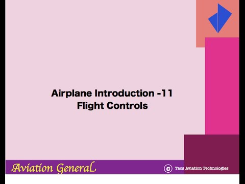 Introduction to Aviation (2)  Flight Controls