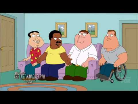 Family Guy - Peter Versus Cleveland In Double Dribble - Attempting The Glitch