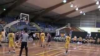 Basketball: NPBHS v Rosmini - NZSS 2012