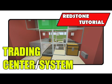 "Trading Center/System ""Redstone Tutorial"" (Minecraft Xbox TU19/PlayStation CU7/PS Vita)"