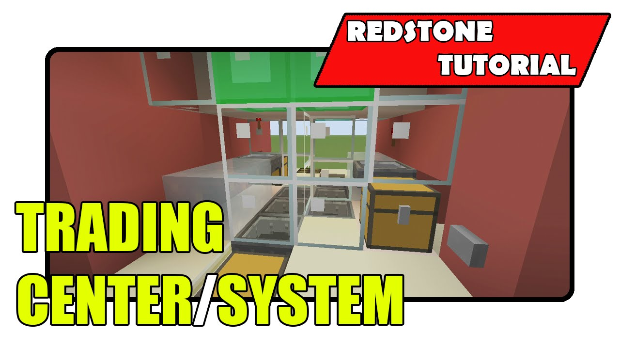 How to make a trading system in minecraft xbox