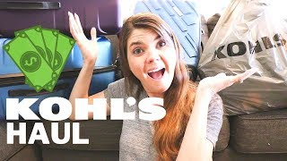 SUMMER KOHL'S SHOPPING HAUL // KIDS CLOTHES HAUL // SHOP WITH ME