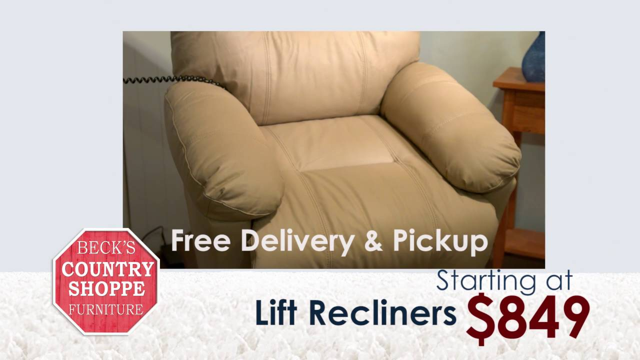 Beck S Lift Chairs Youtube