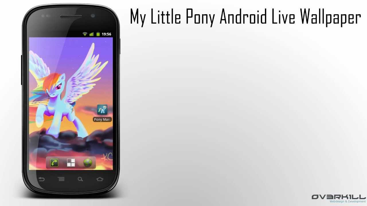 my little pony - friendship is magic | android live wallpaper - youtube