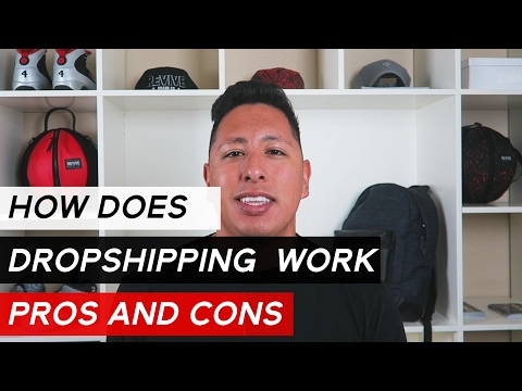 How Dropshipping Works | Pros and Cons To A Dropshipping Business Model thumbnail