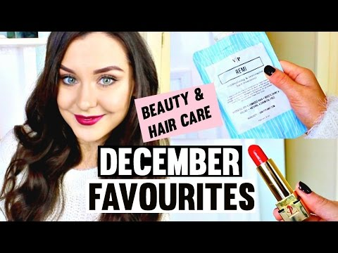 December Beauty Favourites 2015 ♡ | Makeup, Hair Care & Skin Care | KatesBeautyStation