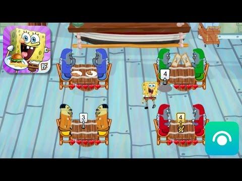 SpongeBob Diner Dash - Gameplay Trailer (iOS)