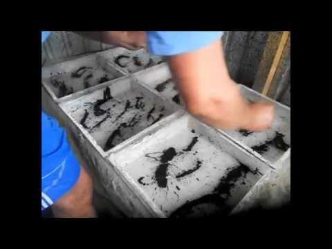 Процесс изготовления тротуарной плитки Фантазия мраморная от А до Я.