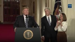 Дональд Трамп объявил своего кандидата на пост судьи Верховного суда США