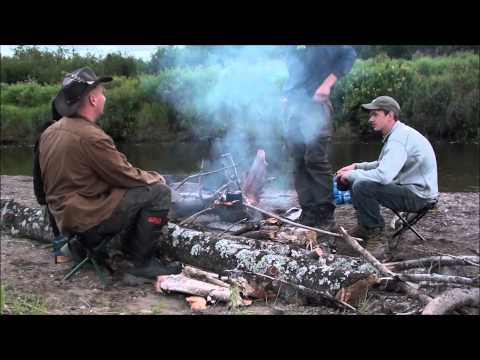 2 Day Bushcraft, Fishing, Cooking & Eating