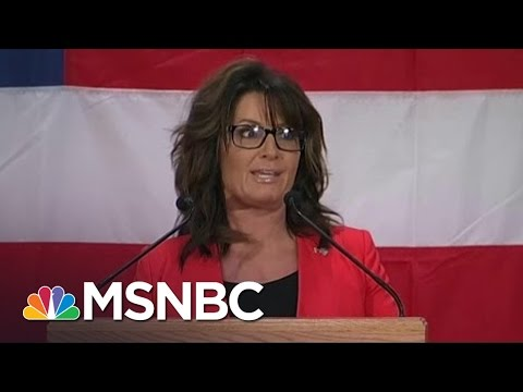 Sarah Palin's Donald Trump Speech: 'Worse Than A Train Wreck' | Morning Joe | MSNBC