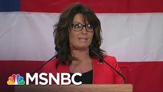 Sarah Palin's Donald Trump Speech: 'Worse Than A Train Wreck'   Morning Joe   MSNBC
