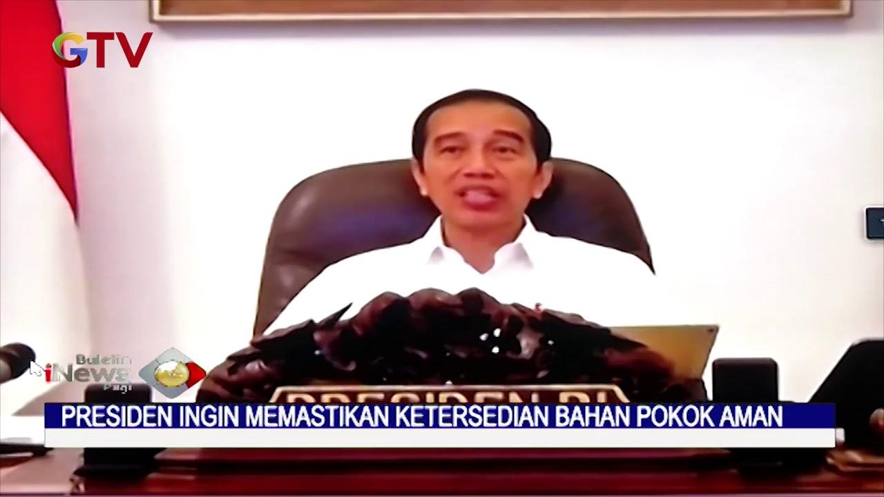 Presiden Pastikan Kebutuhan Bahan Pokok Aman Saat Pandemi Corona – BIP 22/04