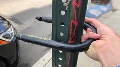 Kryptonite KryptoLok & Evolution Standard, Fahgettaboudit Mini U-Locks real world usage in NYC