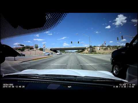 Car Crash 04-09-2016 Dashcam (Mesa, AZ)