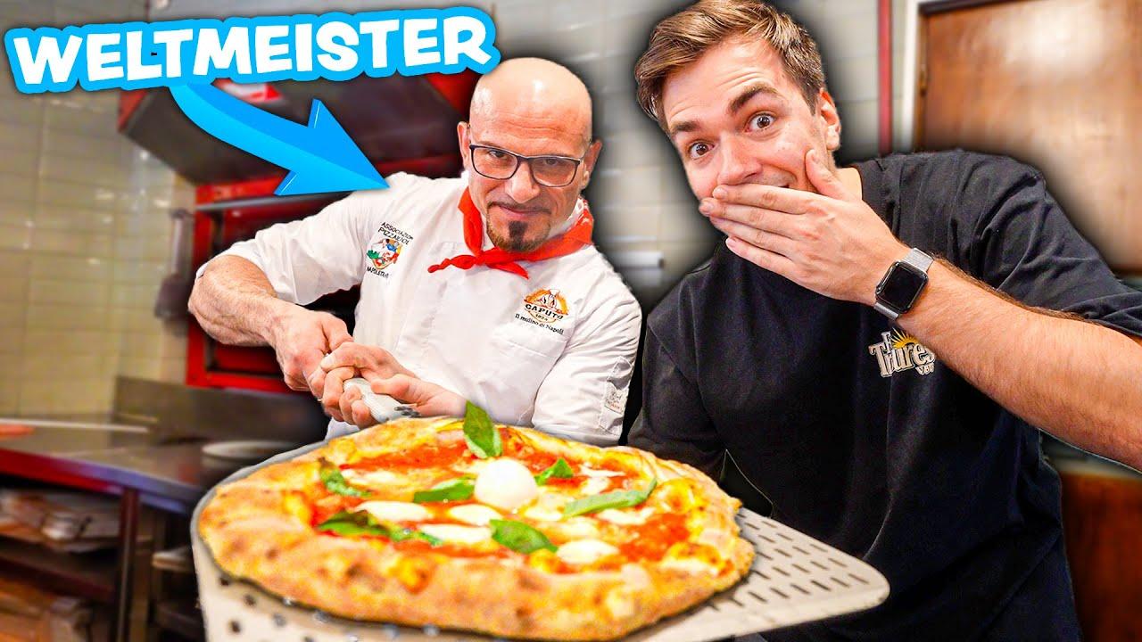 Ich esse die beste Pizza der Welt 🍕 🌎