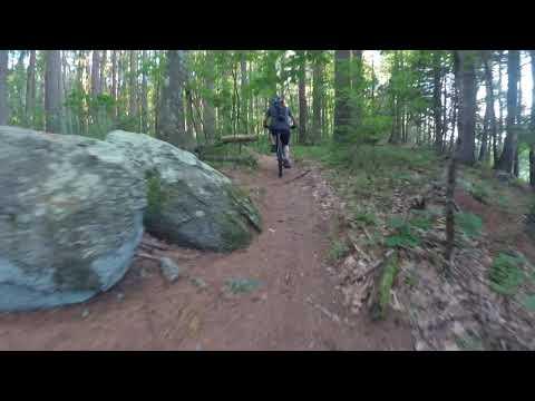 Mountain Biking Great Brook Farm With Mundo (Beaver Loop)