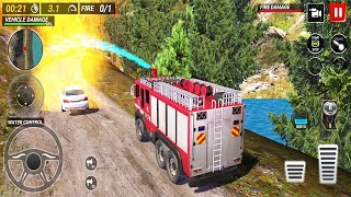 Fire Truck Driving Game 2021 - Android GamePlay 2021