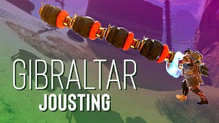 Jousting With Gibraltar In Apex Legends