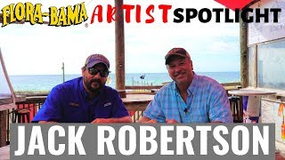 Flora-Bama Artist Spotlight on Jack Robertson aka Big Earl