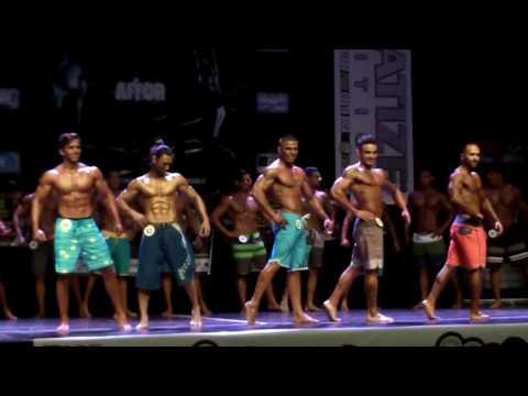 Costa Rica IFBB campeonato Nacional 2015 preliminares men's physique