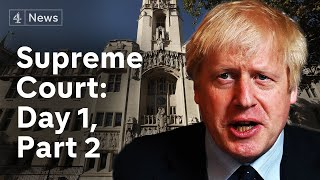 Supreme Court parliament suspension hearing: Day 1, part 1| Brexit
