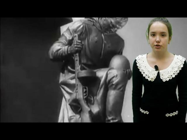Изображение предпросмотра прочтения – ВалерияКузнецова читает произведение «Его зарыли в шар земной...» (Орлов Сергей)