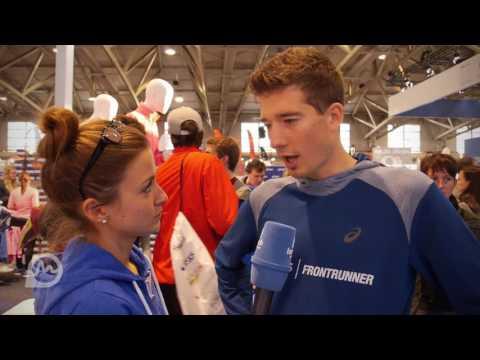 O-Ton mit Julian Flügel beim Frankfurt Marathon