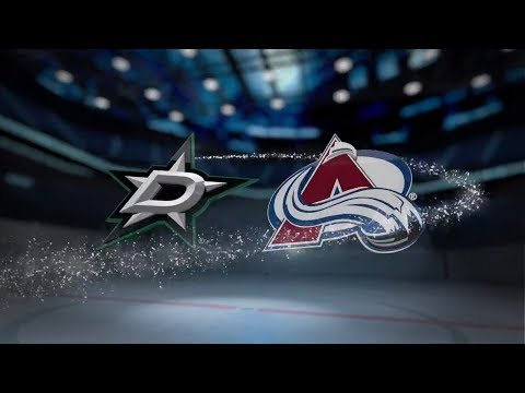 Dallas Stars vs Colorado Avalanche - October 24, 2017 | Game Highlights | NHL 2017/18 Обзор
