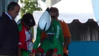 Entrevista con el ciclista Ignacio Prado,  medalla de plata en la prueba contrarreloj en los Juegos