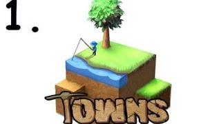 Игра Towns v13a - обзор и летс плей ч. 1 (Как выжить в первые полчаса)