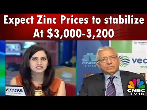 Expect Zinc Prices to stabilize at $3,000-3,200 Per Tonne, Says Vedanta | HALFTIME REPORT