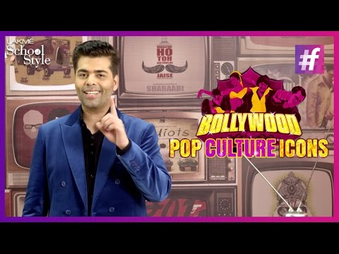 Karan Johar Talks About Bollywood Style Icons | #fame School Of Style
