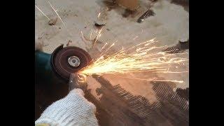 [DIY] グラインダーを使ってコテの刃を研いでみました。